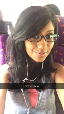 Good selfie opp on the bus :P